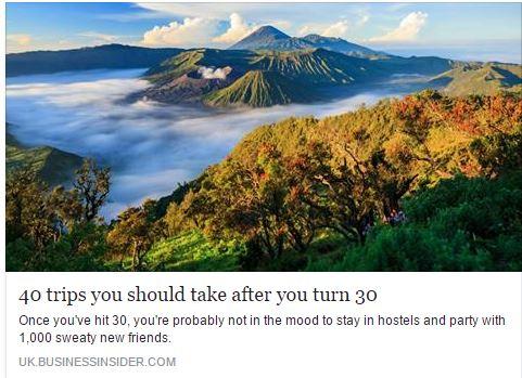 40 tipov na úžasné dovolenky pre ľudí po tridsiatke